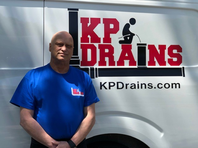 Drain Company KP Drains Owner Paul Pieri